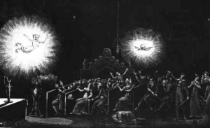 1797 Phantasmagoria from Etienne-Gaspard Roberston. Image courtesy Wikipedia Commons.