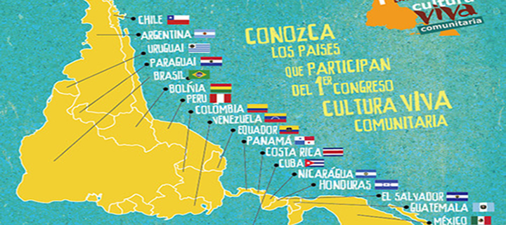 Latin American Countries participating. Image courtesy Rosana Miraglino.