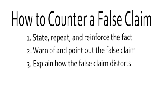 How to Counter Misinformation