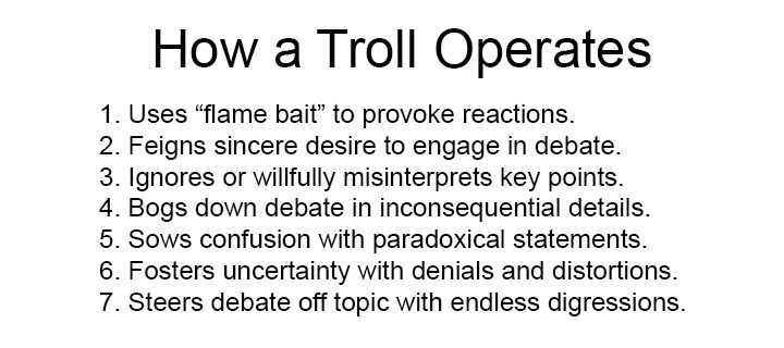 Government Of, By, and For the Trolls