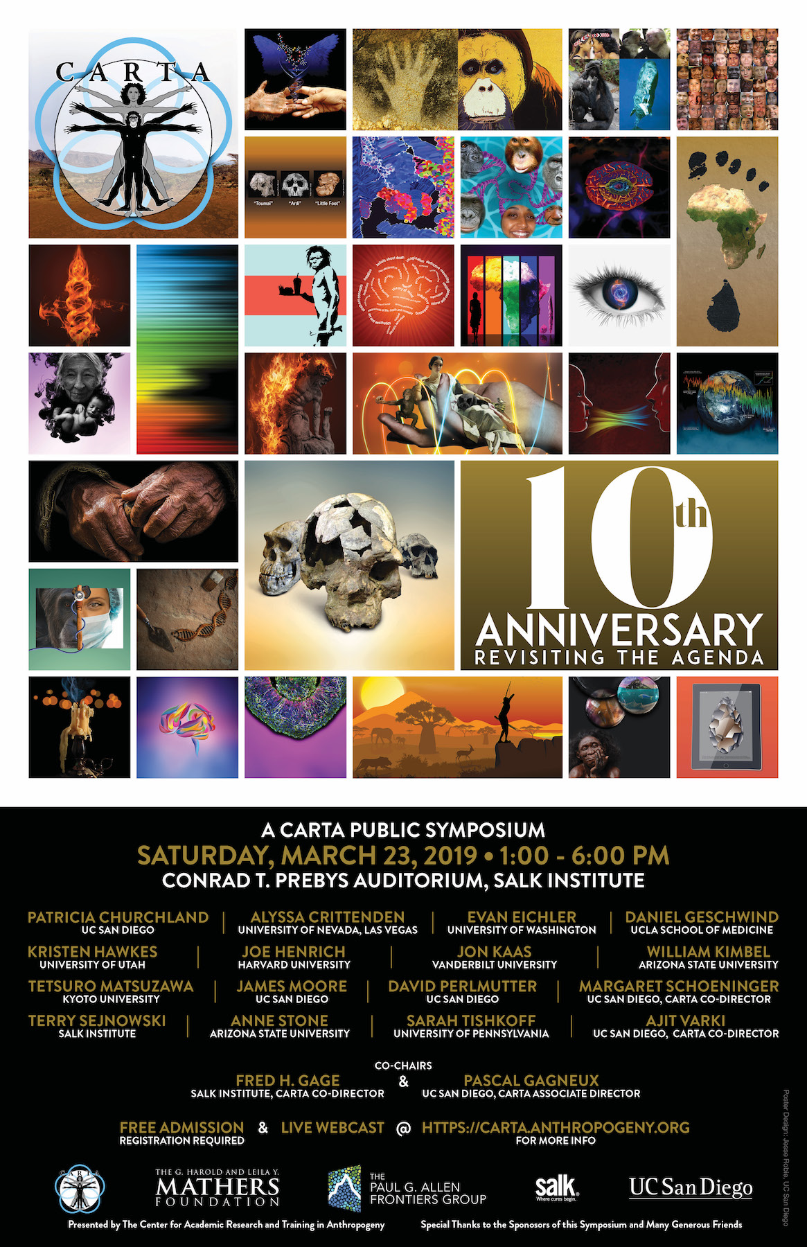 Ucsd Academic Calendar 2019.Carta 10th Anniversary Revisiting The Agenda Symposium