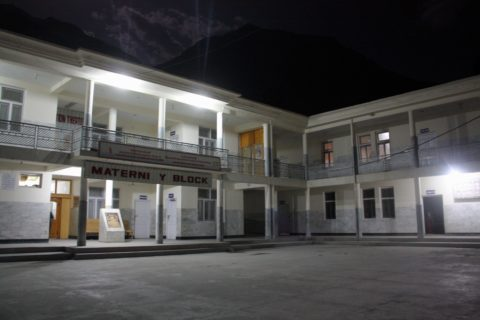 The District Headquarter Hospital (DHQ) in Pakistan-controlled Gilgit, where several episodes of high-intensity, inter-sectarian conflict has yielded sometimes-seismic ruptures of collegiality among providers, and destroyed trust between providers and patients.