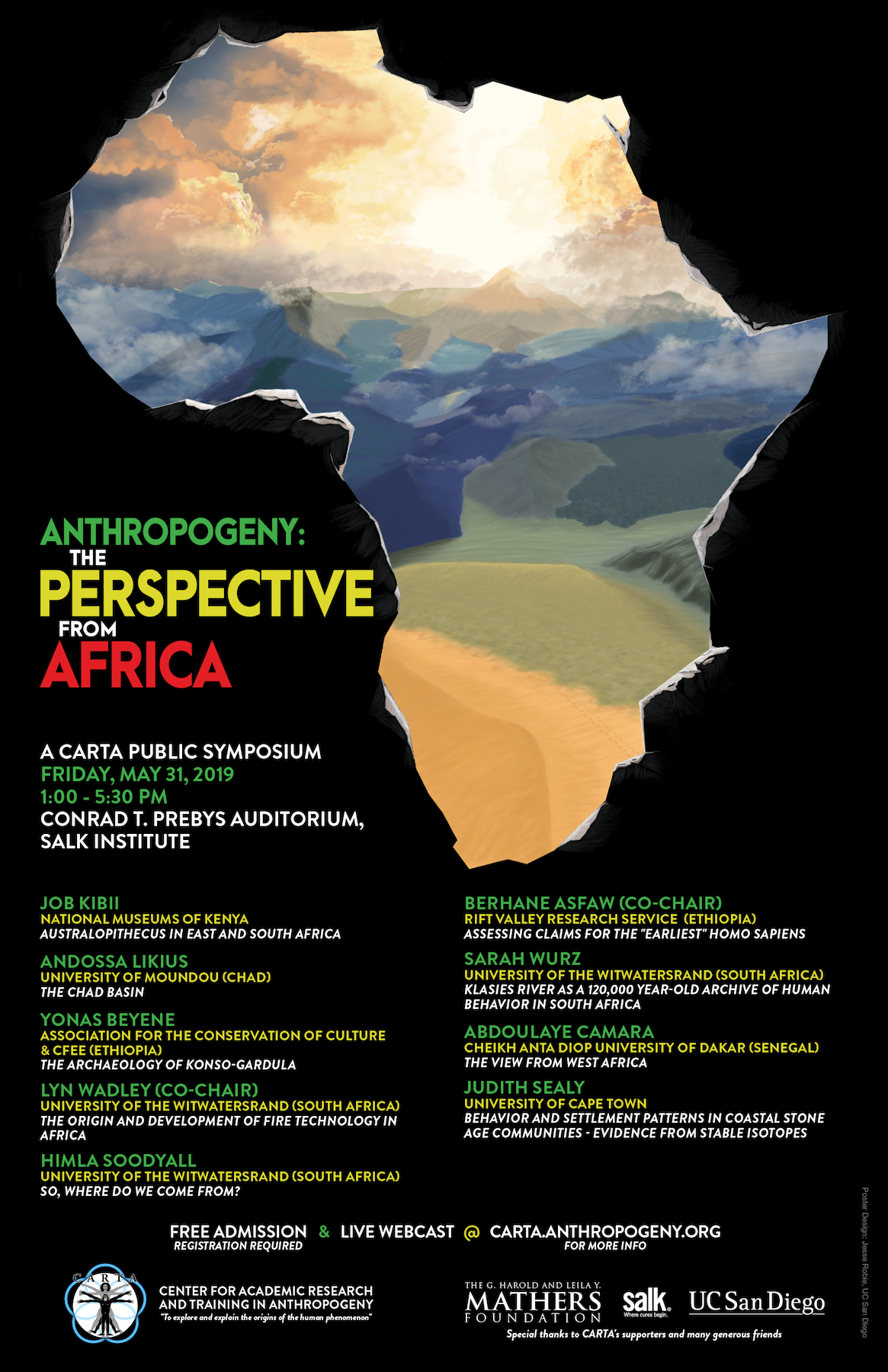 Anthropogeny: The Perspective from Africa Symposium