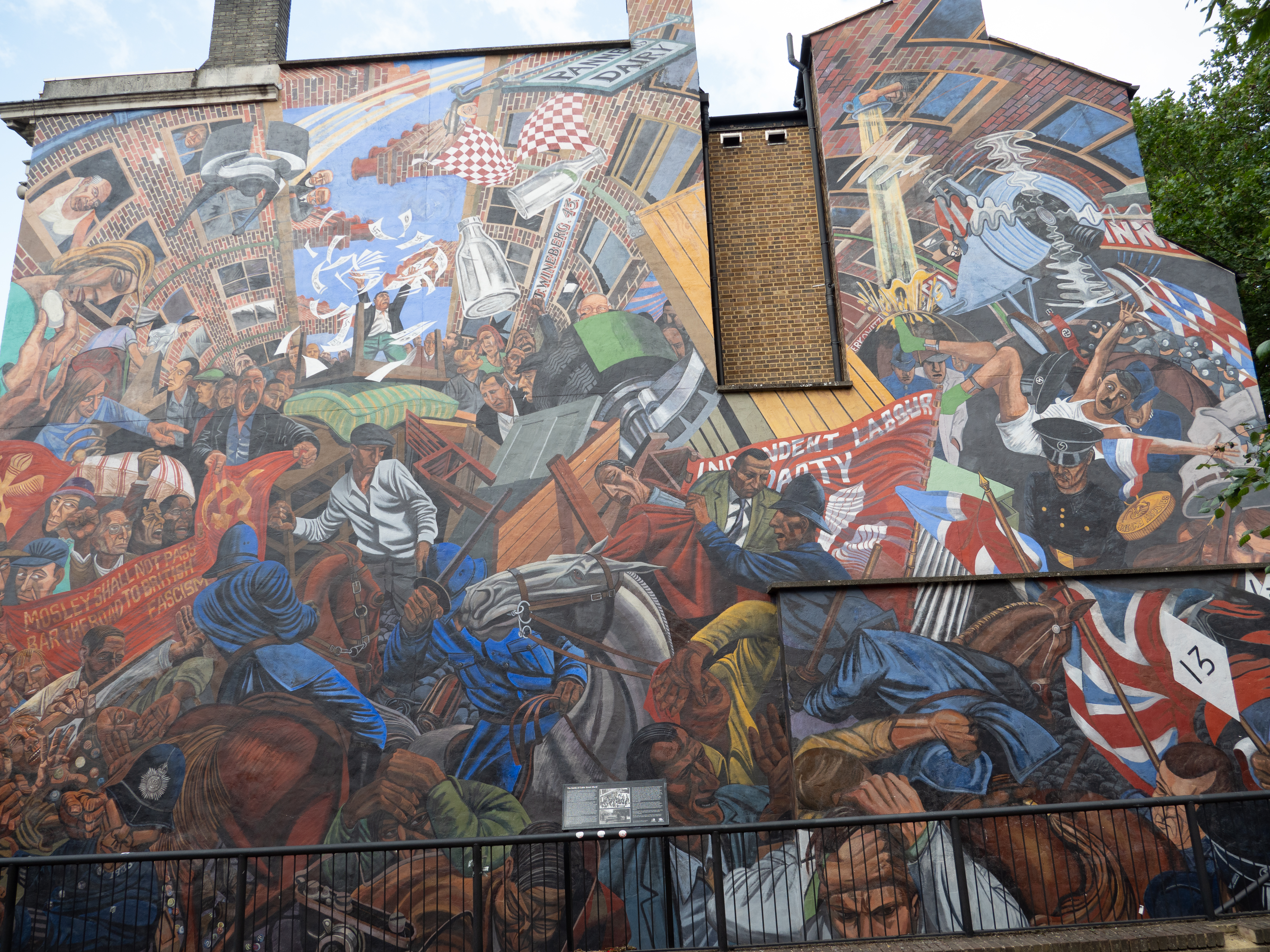 A photograph of the mural described in the paragraph above.