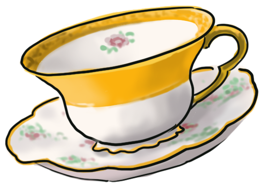 Illustration of a tea cup