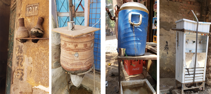 Gifting Water in a Climate-Impacted Megacity