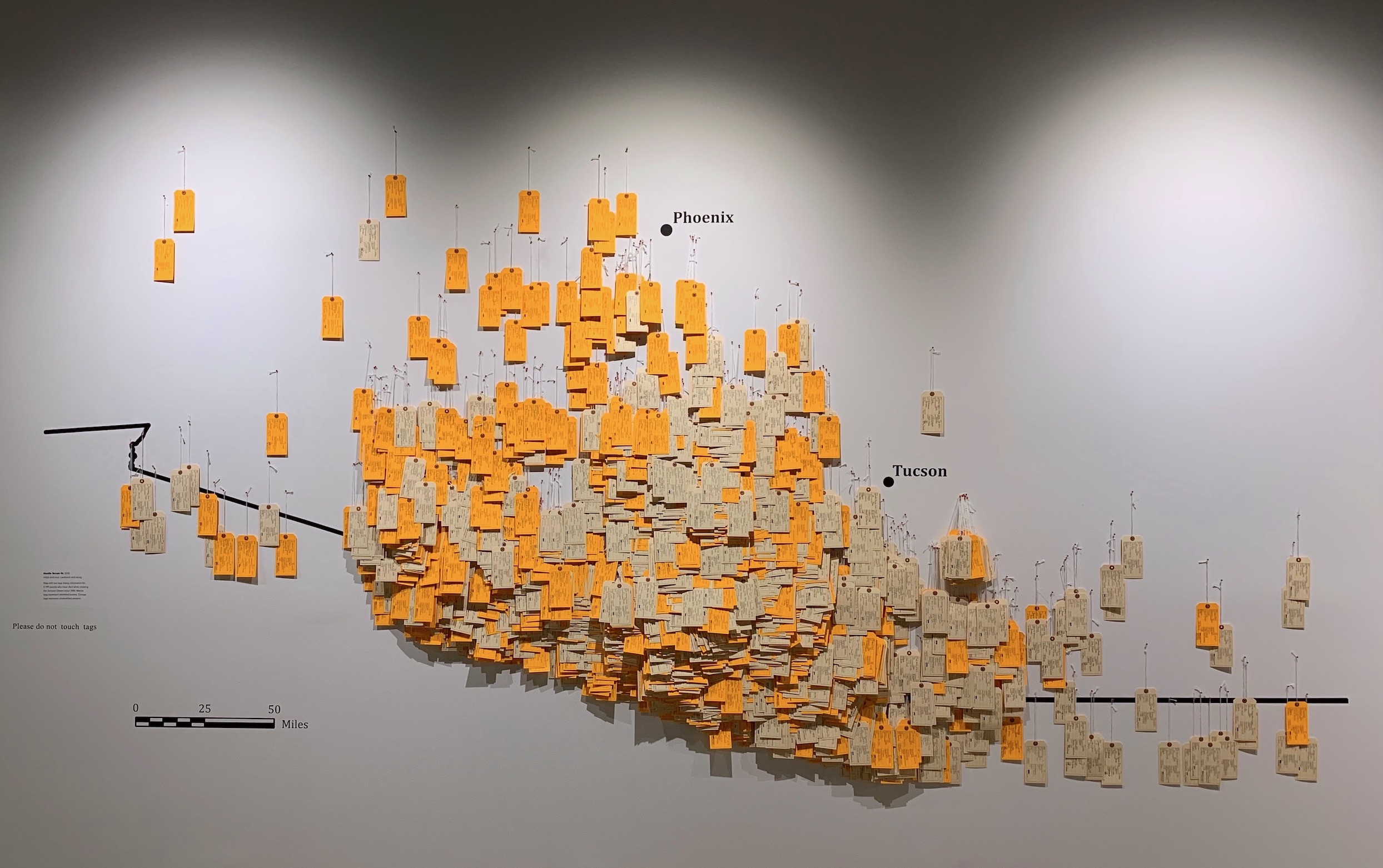 Photograph of installation art