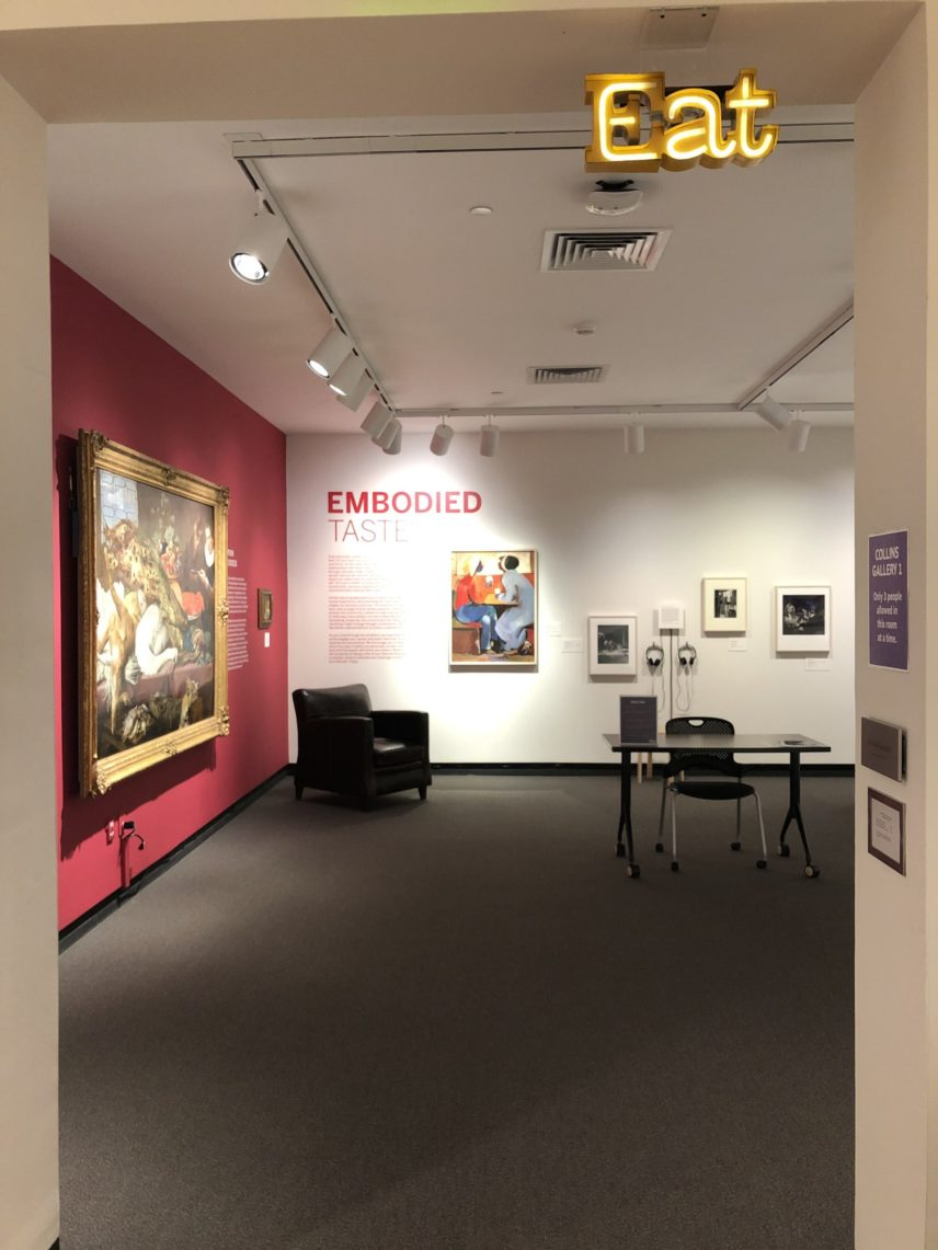 Photograph of the interior of a room