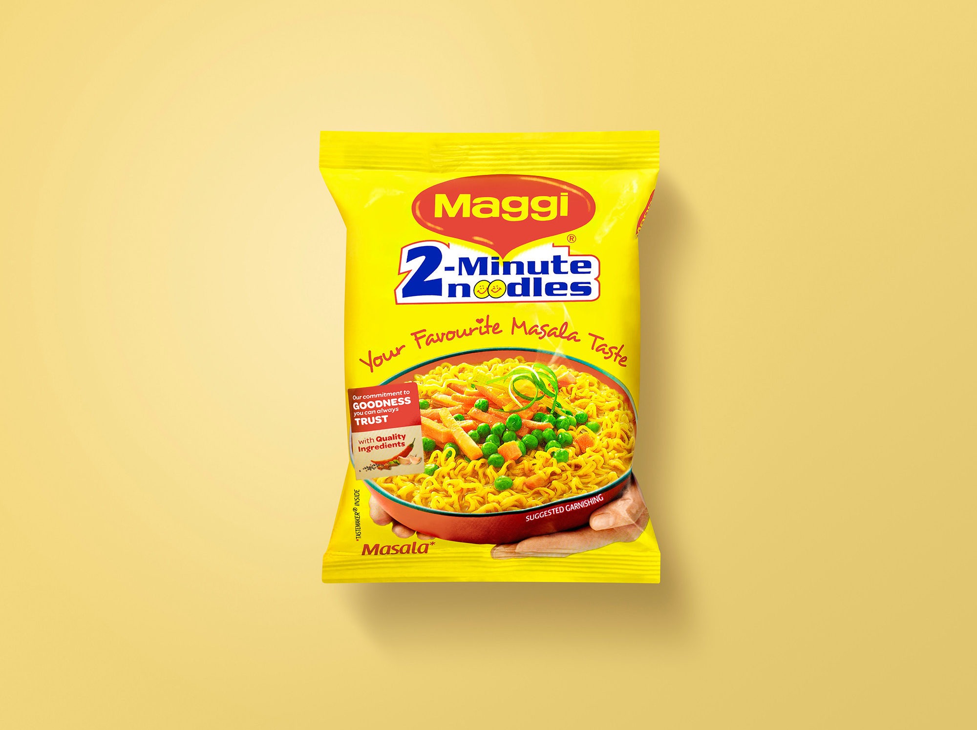Image of a bag of noodles