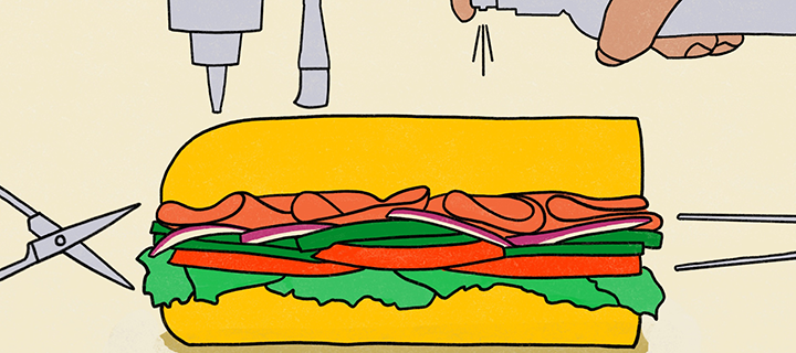 How to Build a Sandwich