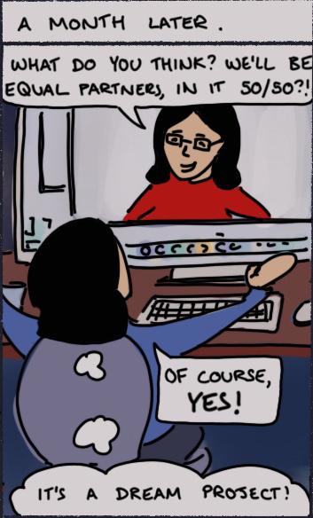 Box 4 of the comic strip