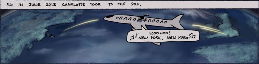 Box 6 of the comic strip