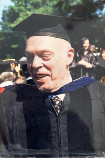 Photograph of a man outdoors